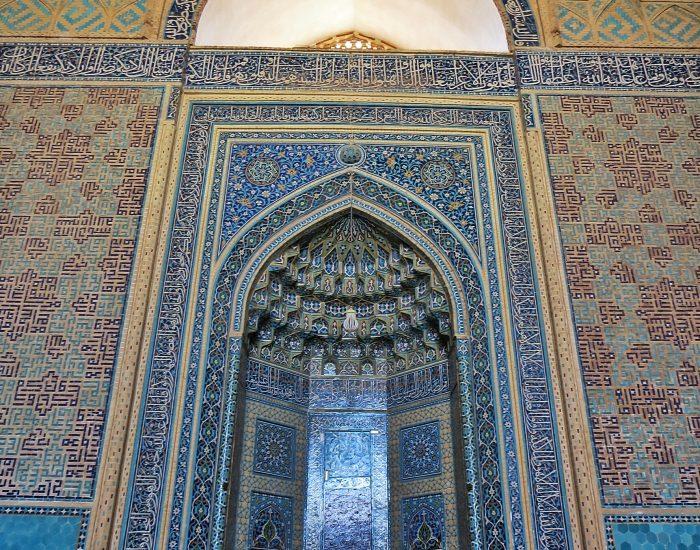 محراب مسجد یزد