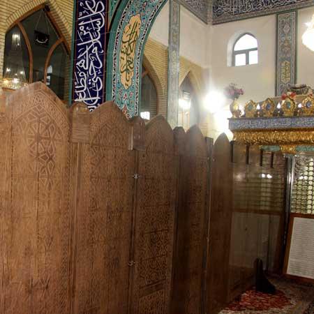 نمونه کار شده پاراوان مسجد و نمازخانه