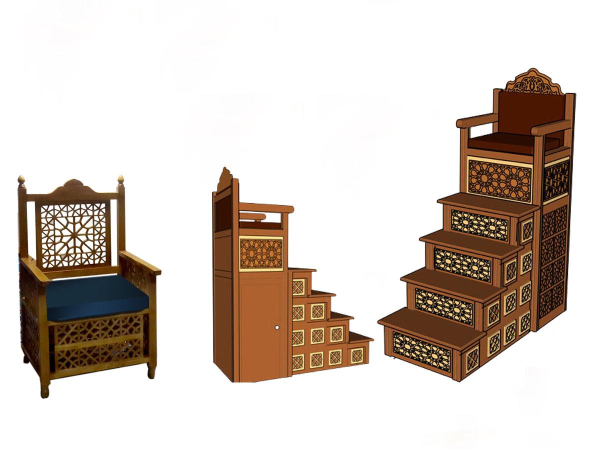 منبر مسجد و نمازخانه