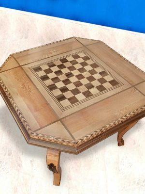 میز بازی دو منظوره(شطرنج و تخته نرد)