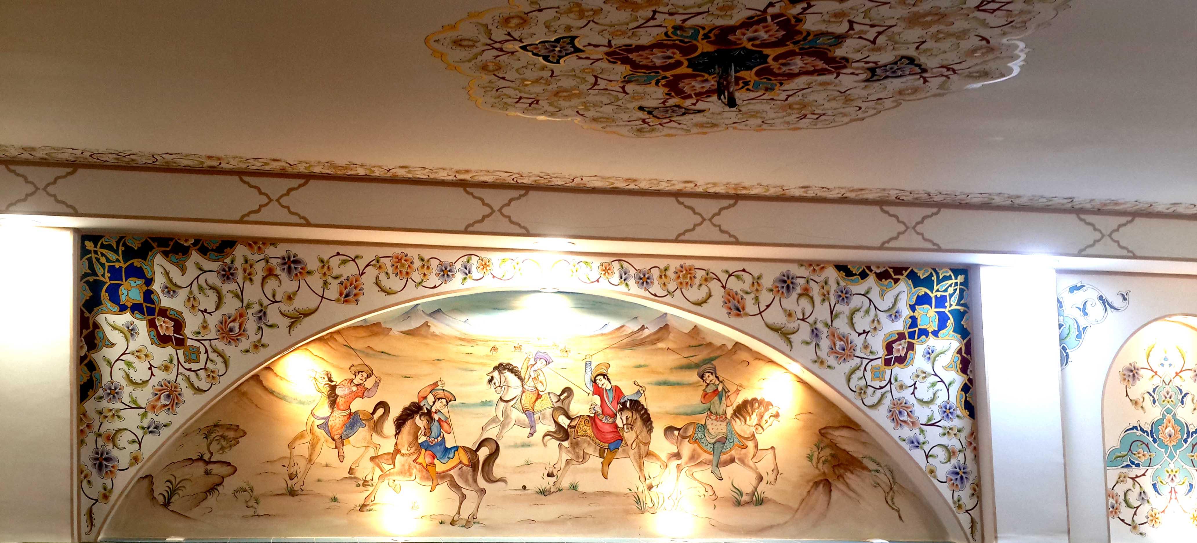 نقاشی در معماری سنتی